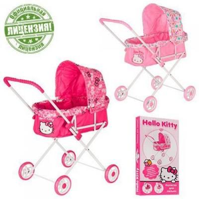Коляска для кукол 00023 Hello Kitty
