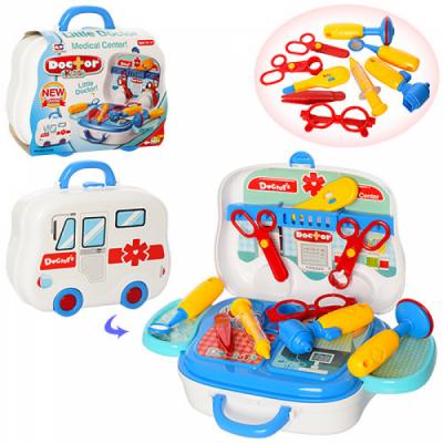 Детский игровой набор Доктор в чемодане 008-918