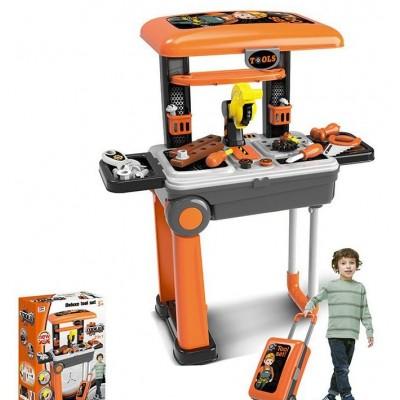 Детский игровой набор инструментов 008-922 в чемодане