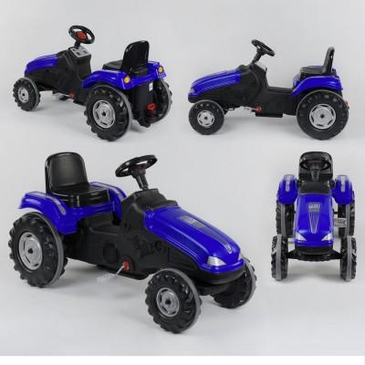 Педальный трактор 07-321 СИНИЙ