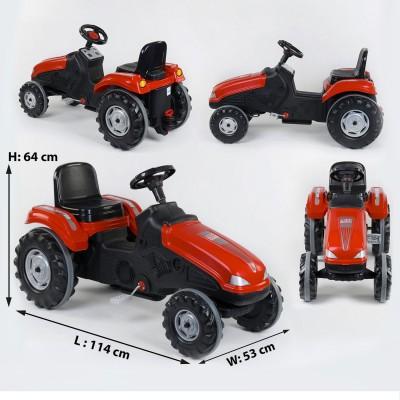 Педальный трактор 07-321 КРАСНЫЙ
