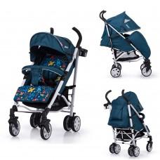 Детская коляска прогулочная CARRELLO Allegro CRL-10101/1 Aviation Blue в льне