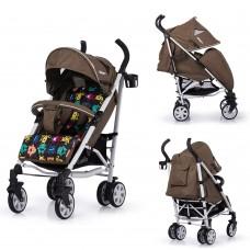 Детская коляска прогулочная CARRELLO Allegro CRL-10101/1 Monster Gold в льне