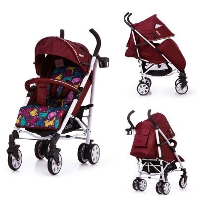 Детская коляска прогулочная CARRELLO Allegro CRL-10101/1 Kitty Red в льне