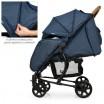 Детская прогулочная коляска ME 1011L ZETA Denim Blue