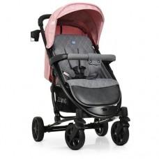 Детская прогулочная коляска ME 1011L ZETA Pale Pink