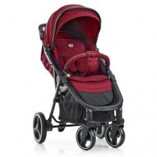 Детская прогулочная коляска ME 1022L EXPERT Deep Red