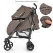 Детская прогулочная коляска-трость ME 1029 BREEZ Latte