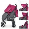 Детская прогулочная коляска-трость ME 1029 BREEZ Pink