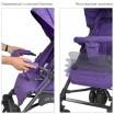 Детская прогулочная коляска-трость ME 1029 BREEZ Violet