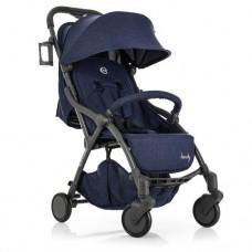 Детская прогулочная коляска ME 1034L HANDY Denim с автоматическим механизмом складывания