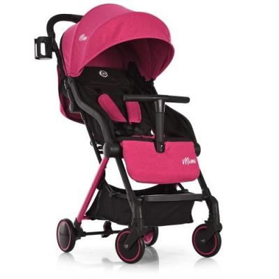 Детская прогулочная коляска ME 1036 MIMI Pink