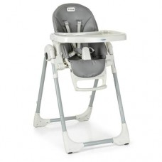 Детский стульчик для кормления ME 1038 PRIME GRAY