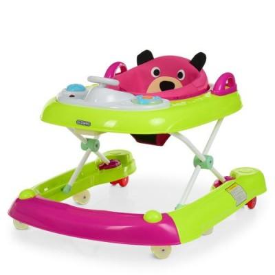 Детские ходунки ME 1055 BEAR Pink
