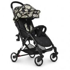 Детская прогулочная коляска ME 1058 WISH Floral Black