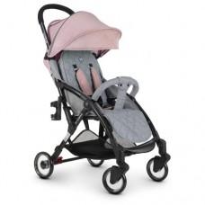 Детская прогулочная коляска ME 1058 WISH Pink Gray