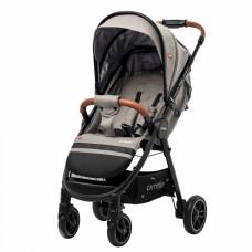 Детская прогулочная коляска CARRELLO Eclipse CRL-12001 Cotton Beige в льне + дождевик