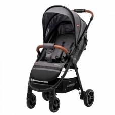 Детская прогулочная коляска CARRELLO Eclipse CRL-12001 Ink Grey в льне + дождевик