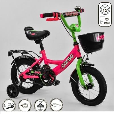Детский двухколесный велосипед Corso G-12407 12 дюймов