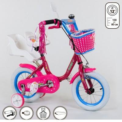 Детский двухколесный велосипед Corso 1247 12 дюймов
