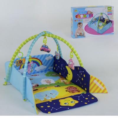 Детский развивающий коврик 127-22