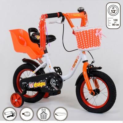 Детский двухколесный велосипед Corso 1285 12 дюймов