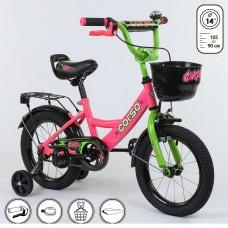 Детский двухколесный велосипед Corso G-14002 14 дюймов