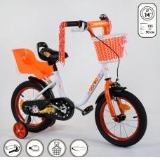 Детский двухколесный велосипед Corso 1408 14 дюймов