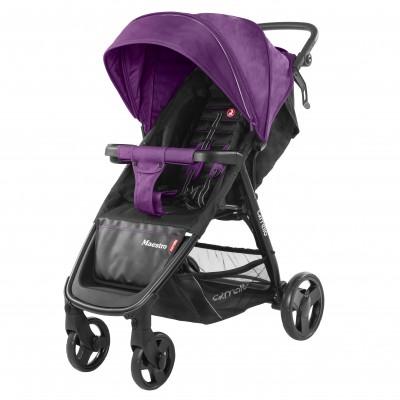 Детская коляска прогулочная CARRELLO Maestro CRL-1414 Deep Purple + дождевик