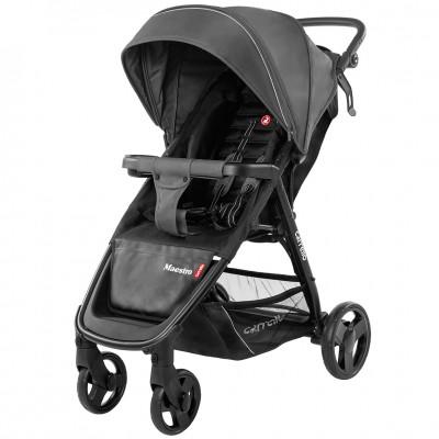 Детская коляска прогулочная CARRELLO Maestro CRL-1414 Magnet Grey + дождевик