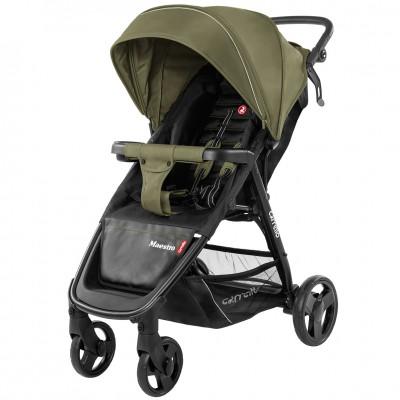 Детская коляска прогулочная CARRELLO Maestro CRL-1414 Wild Olive + дождевик