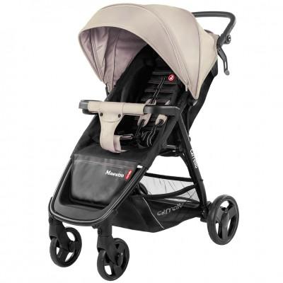 Детская коляска прогулочная CARRELLO Maestro CRL-1414 Sand Beige + дождевик
