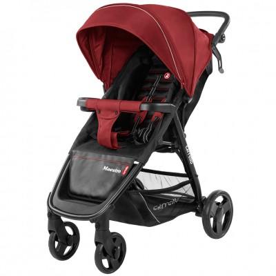Детская коляска прогулочная CARRELLO Maestro CRL-1414 Tango Red + дождевик