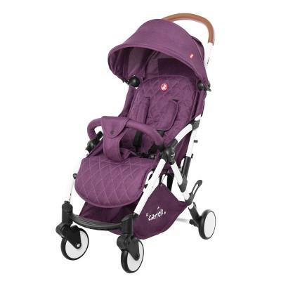 Детская прогулочная коляска CARRELLO Pilot CRL-1418 Iris Purple с дождевиком