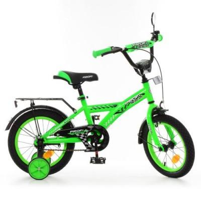 Детский двухколесный велосипед T1436 Profi Racer 14 дюймов