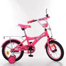 Детский двухколесный велосипед PROF1 Original Girl T1462 14 дюймов