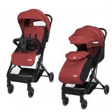 Детская прогулочная коляска Tilly Bella T-163 Brick Red + дождевик