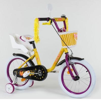 Детский двухколесный велосипед Corso 1675 16 дюймов