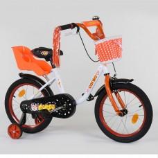 Детский двухколесный велосипед Corso 1685 16 дюймов