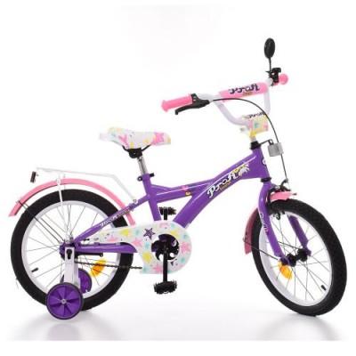 Детский двухколесный велосипед PROF1 Original Girl T1463 14 дюймов
