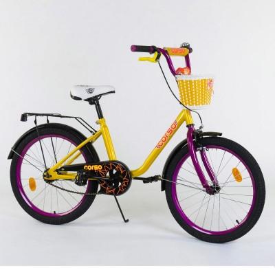 Детский двухколесный велосипед Corso 2075 20 дюймов