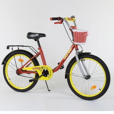 Детский двухколесный велосипед Corso 2093 20 дюймов