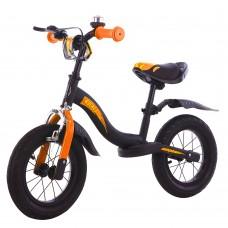 Детский беговел BALANCE TILLY Rocket T-212520 Orange с ручным тормозом 12 дюймов (надувные колеса)