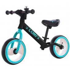 Детский беговел BALANCE TILLY Lumi T-212521 Black 12 дюймов (светящиеся колеса)