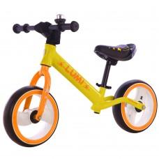 Детский беговел BALANCE TILLY Lumi T-212521 Yellow 12 дюймов (светящиеся колеса)