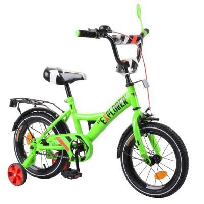 Детский двухколесный велосипед EXPLORER T-21418 14 дюймов