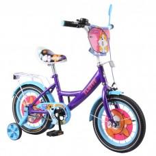 Детский двухколесный велосипед Tilly Fluffy T-214213 14 дюймов
