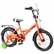 Детский двухколесный велосипед Tilly EXPLORER T-216113 16 дюймов