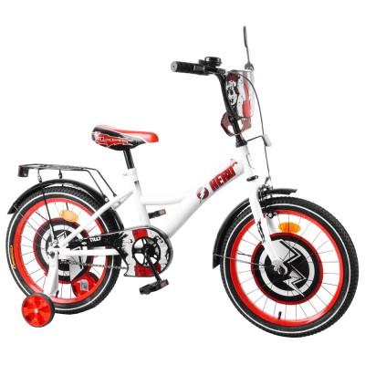 Детский двухколесный велосипед TILLY Hero T-218212 18 дюймов