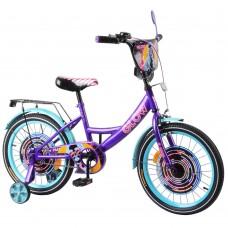 Детский двухколесный велосипед TILLY Glow T-218213 18 дюймов